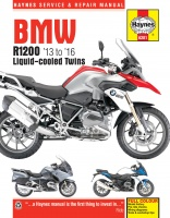 BMW R1200 DOHC LIQUID-COOLED TWINS (2013-2016) NAPRAWA INSTRUKCJA