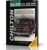 GENERAL MOTORS FULL SIZE VANS (1987-1997) - Chilton Manual