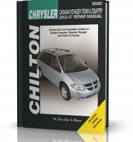 DODGE CARAVAN / CHRYSLER VOYAGER i TOWN & COUNTRY (2003-2007) - poradnik Chilton
