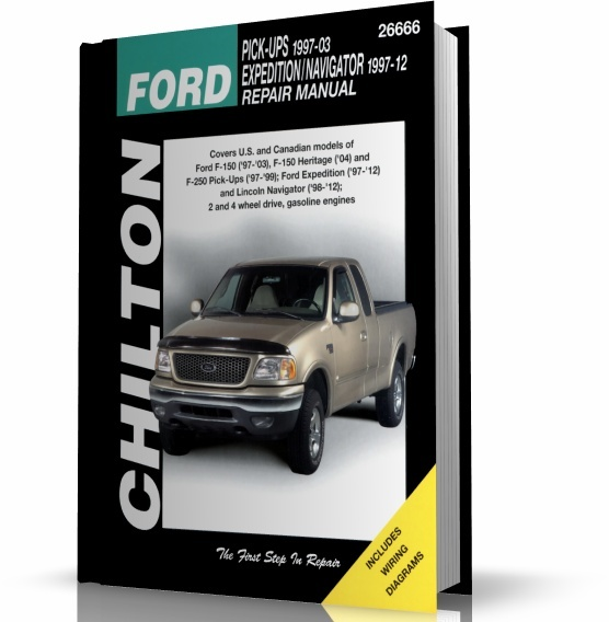 FORD PICK-UPS, FORD EEXPEDITION, LINCOLN NAVIGATOR (1997-2012) CHILTON