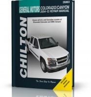 GM - CHEVROLET COLORADO / GMC CANYON (2004-2012)- instrukcja Chilton
