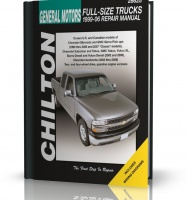 GENERAL MOTORS FULL-SIZE TRUKS (1999 - 2006) - instrukcja Chilton